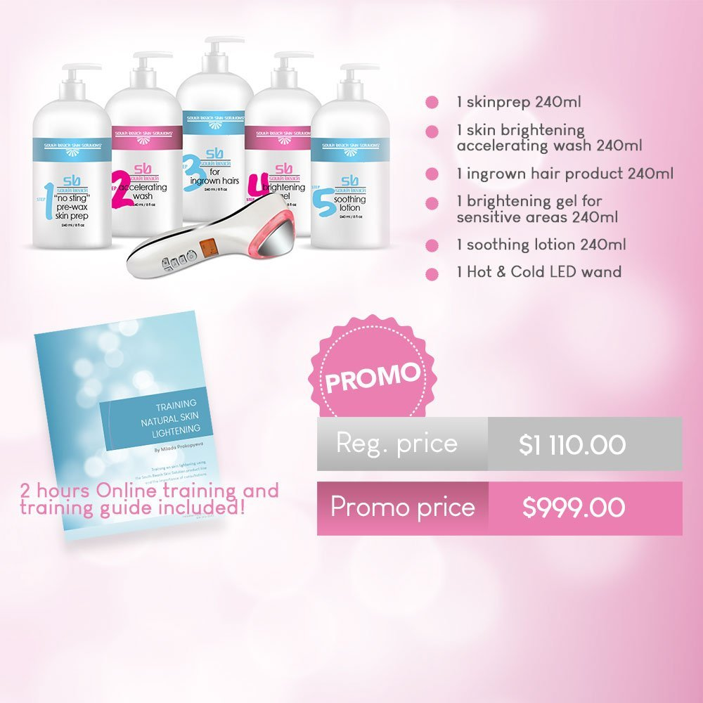 South Beach Skin Solutions Spa Owners Promo