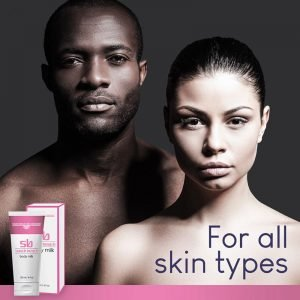 SB Skin Brightening Body Milk - for all skin types