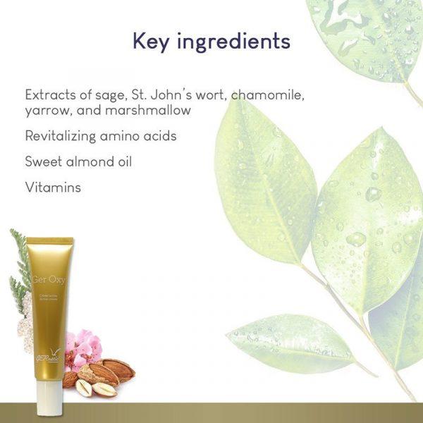 GERnétic Ger Oxy - key ingredients