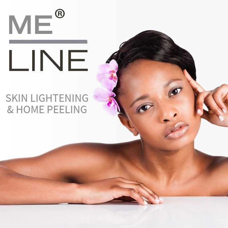 ME LINE Skin Lightening Peeling Kit for Matte and Black Skin